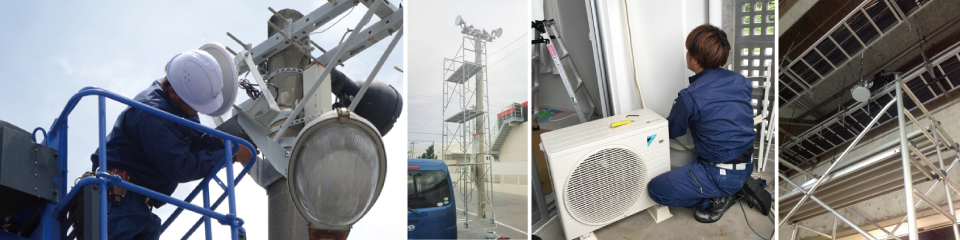 沖縄県福岡県電気工事業